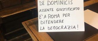 Diserta il consiglio per correre a Roma  e difendere le nostre famiglie dagli oppressori: quel giorno in cui Gianluca De Dominicis salvò la nostra democrazia