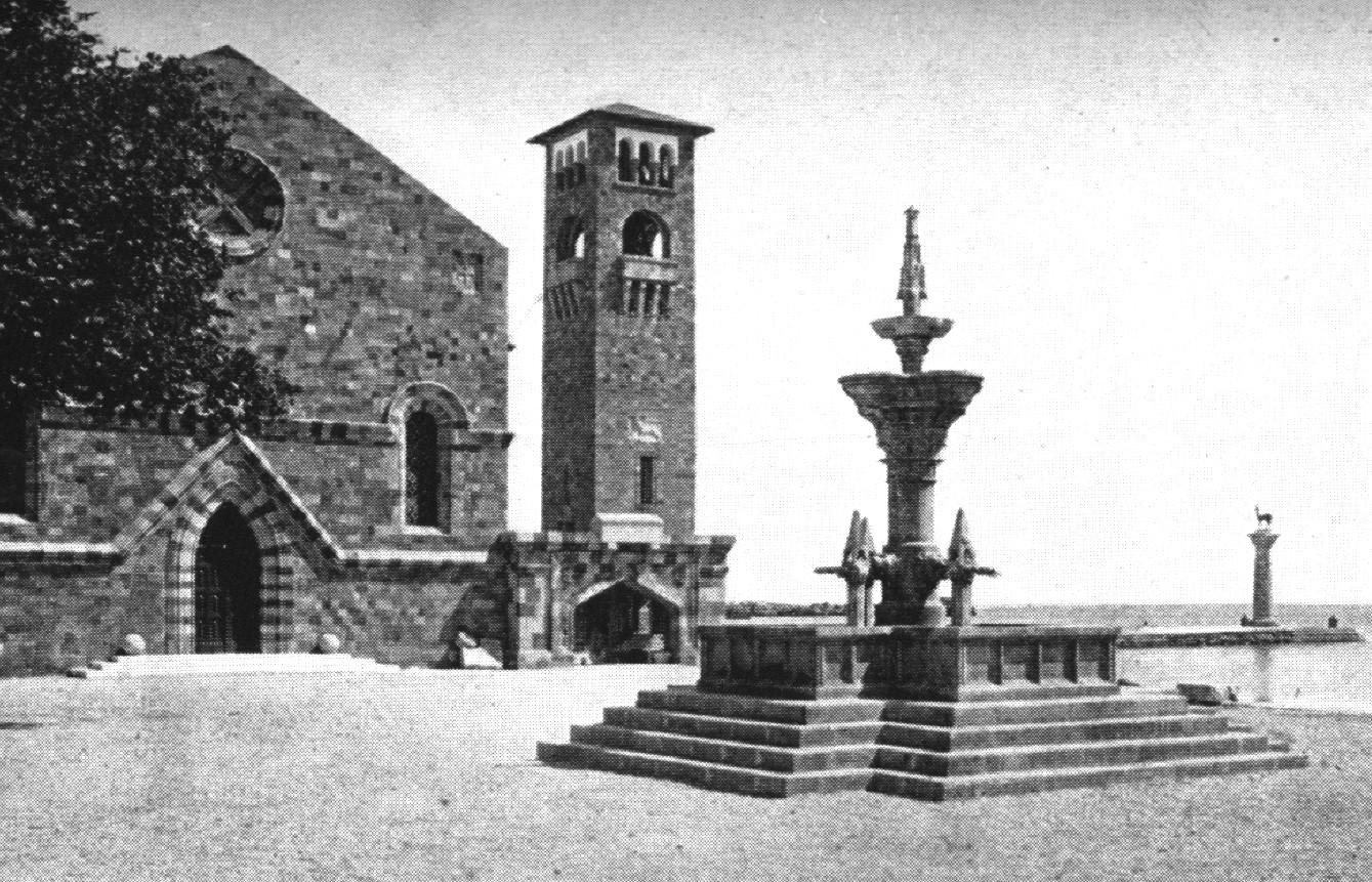 Storia cittadina: Fontana Grande, a Rodi uno dei simboli di Viterbo