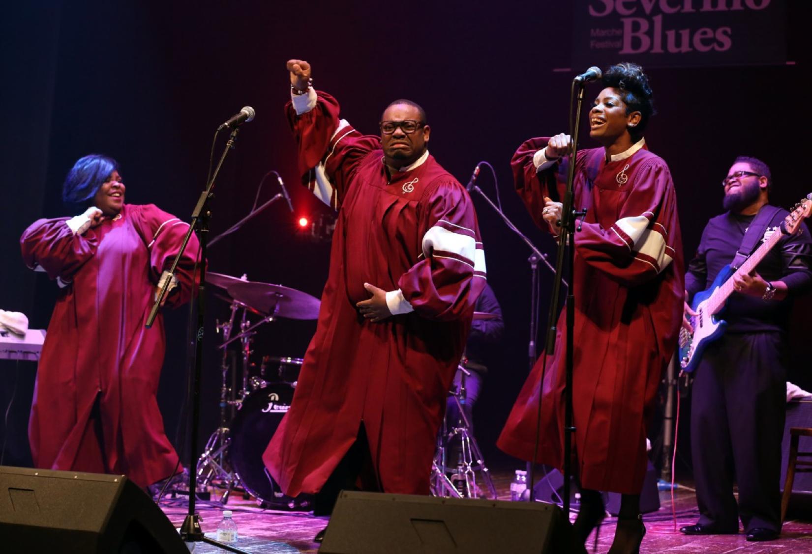 """Ronciglione, il coro gospel di """"Markey"""" Montague apre il Christmas in Jazz"""