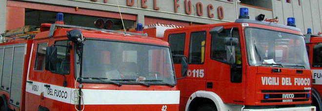 Maltempo in Tuscia: vigili del fuoco al lavoro in città e provincia, molte le richieste e le zone isolate