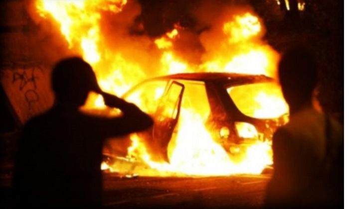 Incendi dolosi di auto in aumento, episodi di natura mafiosa? Altro che scippi e immigrati, il pericolo è la macrocriminalità