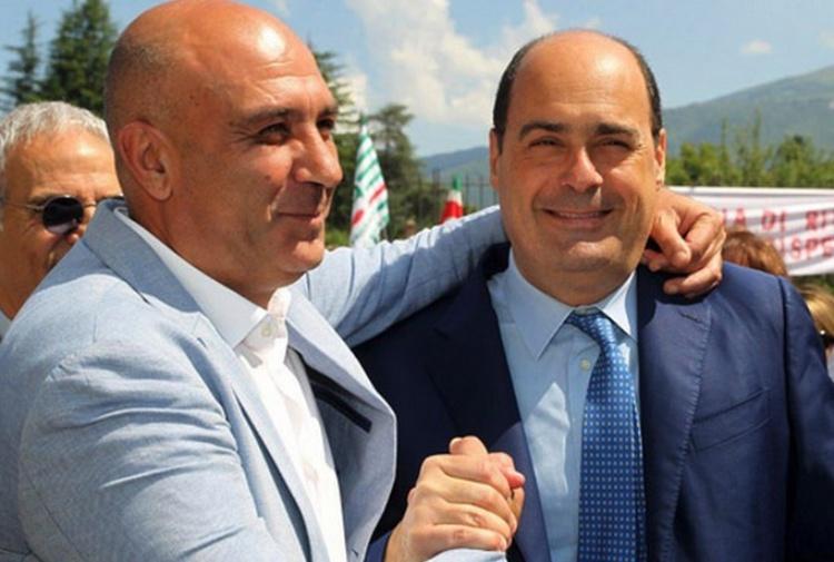 Pirozzi minacciato di morte su Fb: la solidarietà di Zingaretti