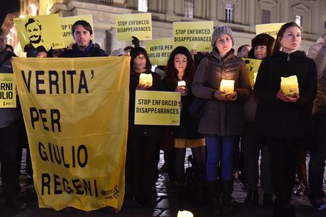 Ore 19, 41 l'Italia si tinge di giallo per Giulio Regeni: due anni dalla scomparsa, senza verità e giustizia