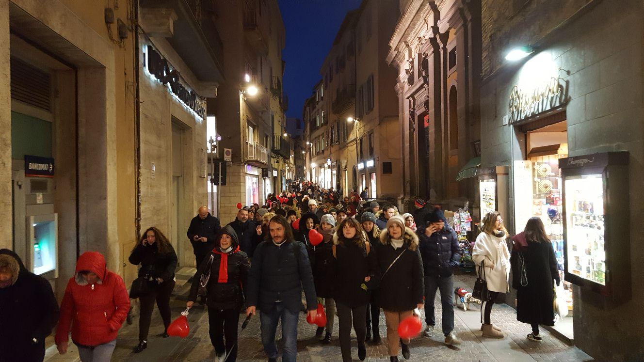 """L'evento: """"Un nuovo amore per Viterbo"""": il San Valentino di Venti Venti riporta i viterbesi a passeggiare per la città"""