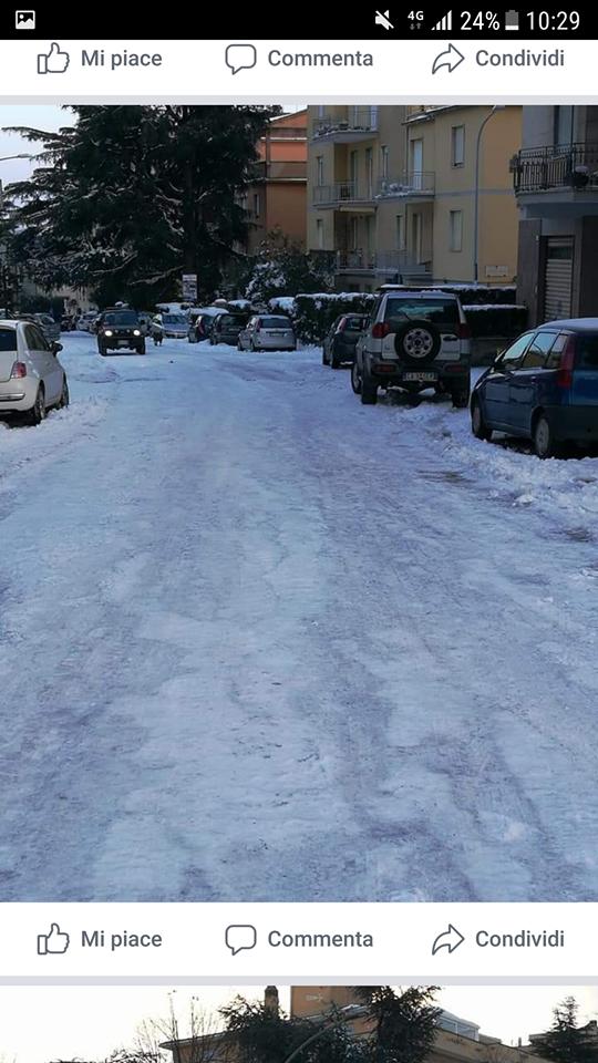 Emergenza neve: il disagio è grande anche ai Cappuccini, al Murialdo, al Barco, il pericolo lastre di ghiaccio