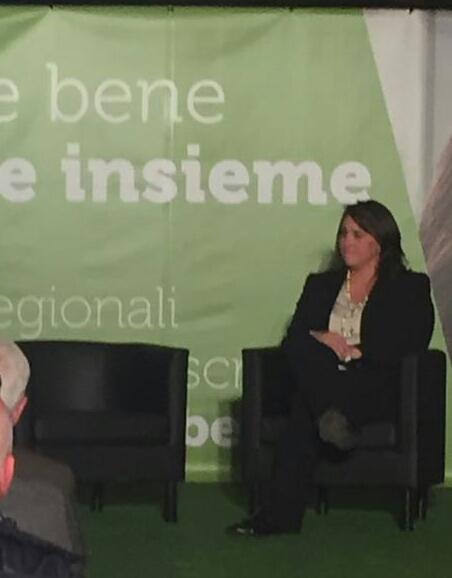 """Verso le regionali: Apre la campagna elettorale la Ciambella: """"Voglio essere il consigliere regionale di tutti"""""""