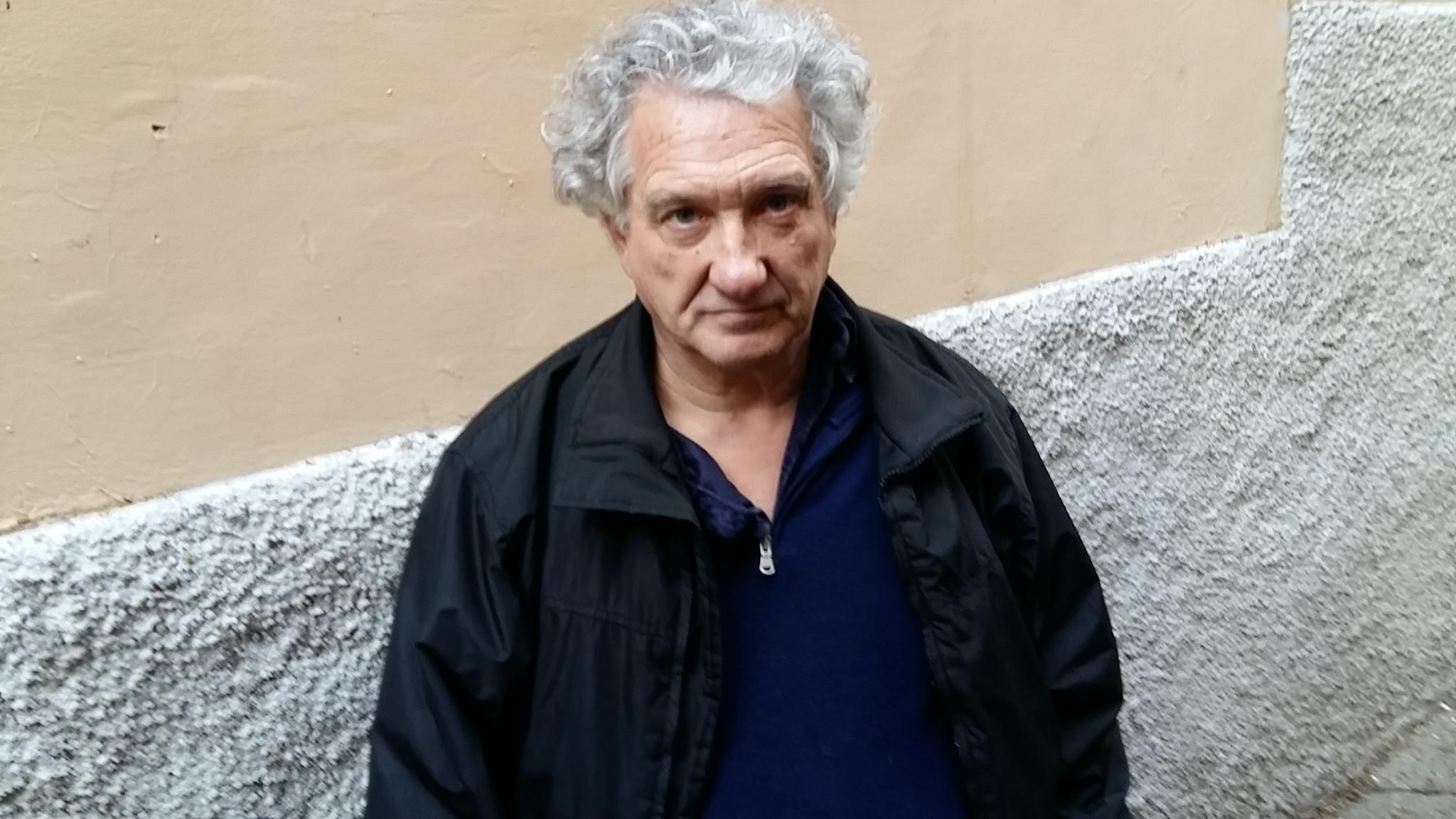 """Palazzo inagibile a Via S. Simeone, 5: toscano viene a vivere a Viterbo  e perde la casa dove vive: """"Ma voglio restare qui"""""""