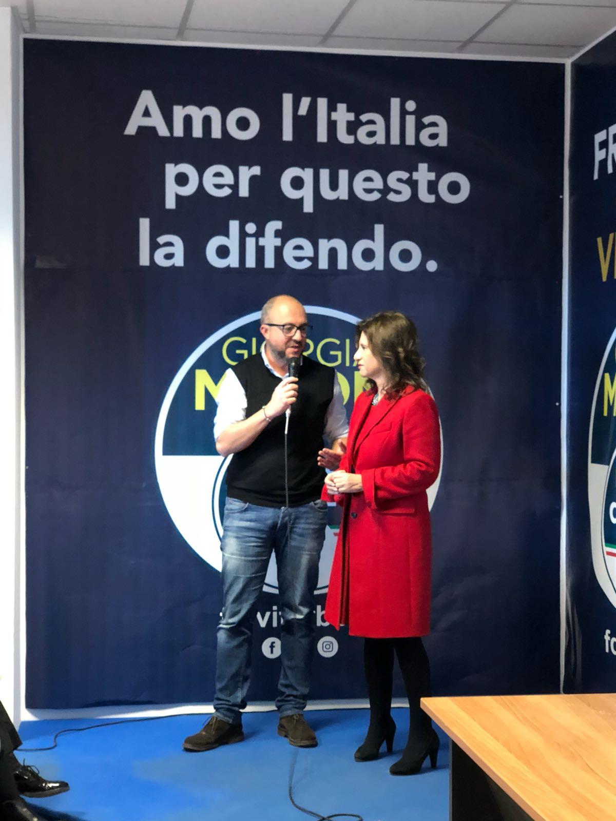 """Viterbo """"elettorale"""": la rentrèe della Allegrini carica Fratelli d'Italia"""