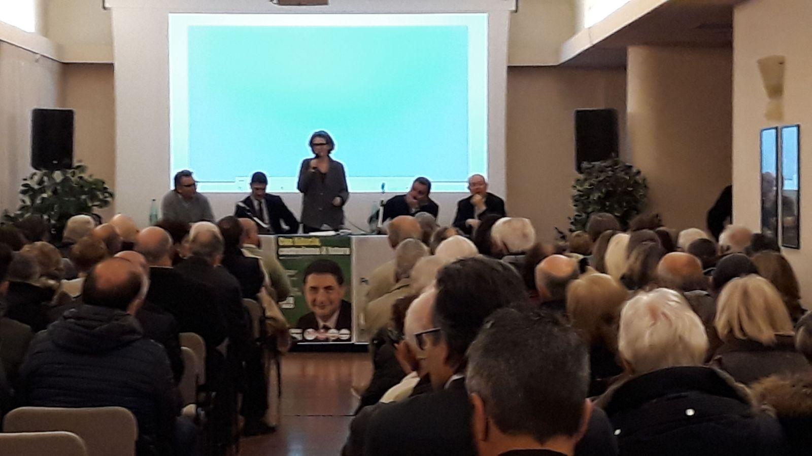 """Verso le politiche: sala piena al Balletti di San Martino al Cimino per la riunione degli """"orlandiani"""" di Piazza Democratica del Pd"""