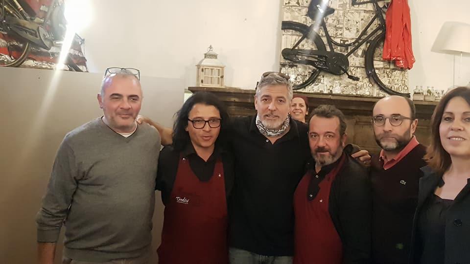 Visti in città:  George cerca location (a Viterbo), Clooney ospite della città dei Papi