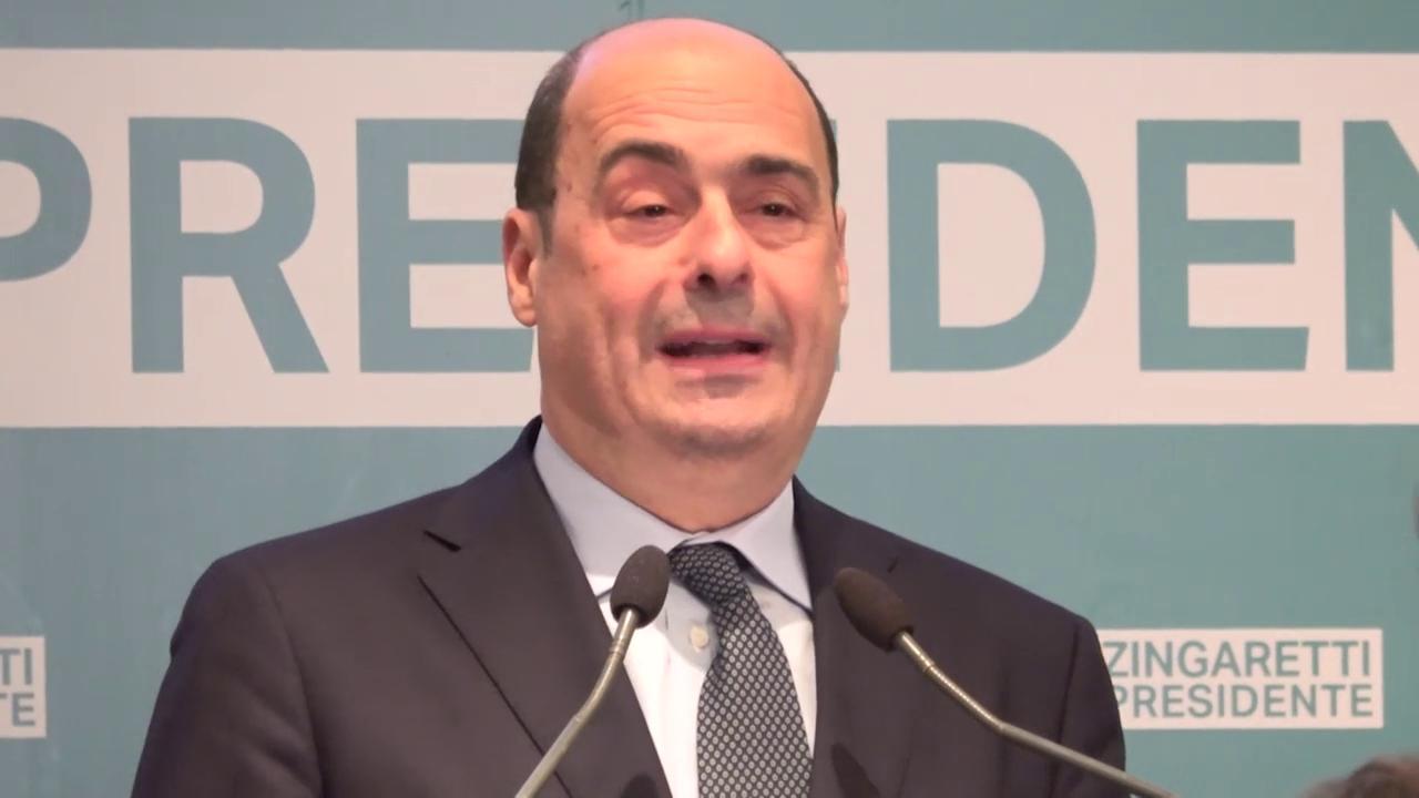 Dopo il voto: Zingaretti scende in campo, correrà alle primarie del Pd