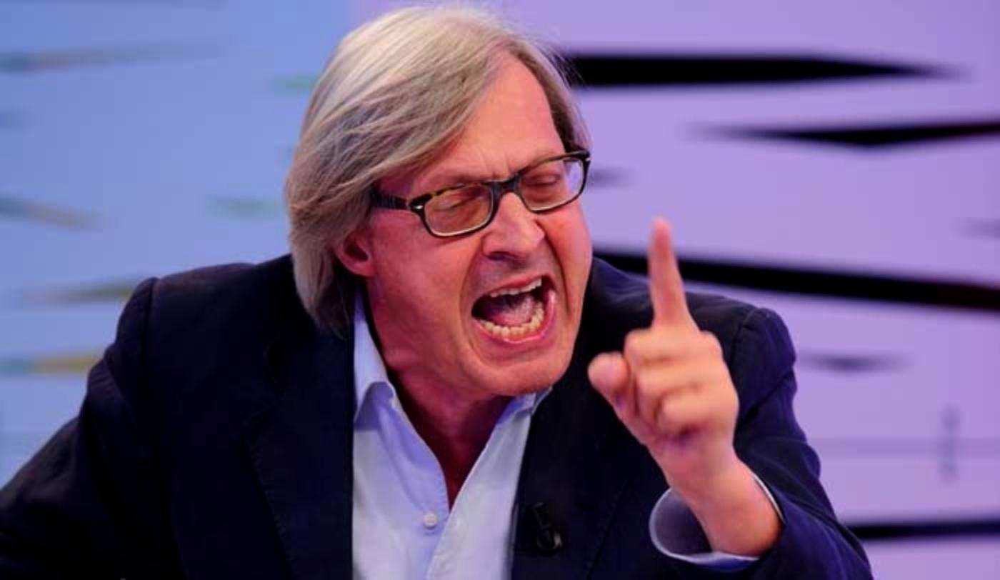 Politica e Tv: No, Sgarbi sindaco di Sutri no,  per favore, noi facciamo zapping