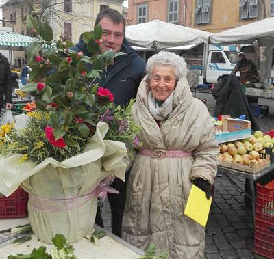 """""""Alberto lo dirà che a Viterbo ce vòle il mercato coperto"""", la 90enne Pasqualina orgogliosa della partecipazione del nipote al """"Grande Fratello"""""""