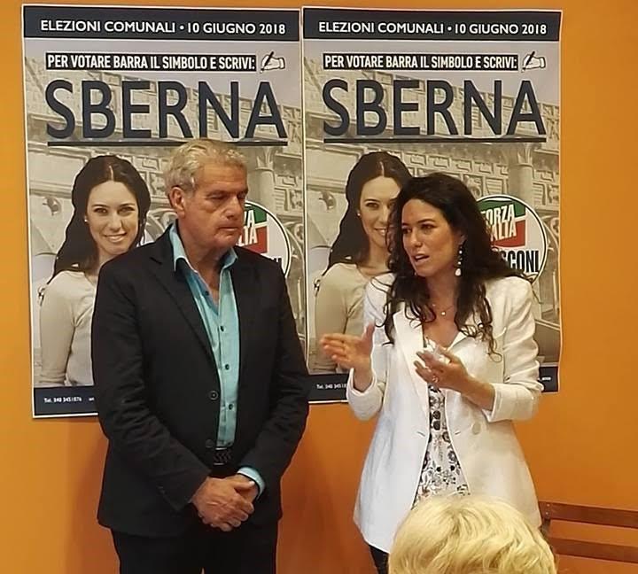 Comunali: inaugurato nel centro storico il comitato di Antonella Sberna (F.I.)