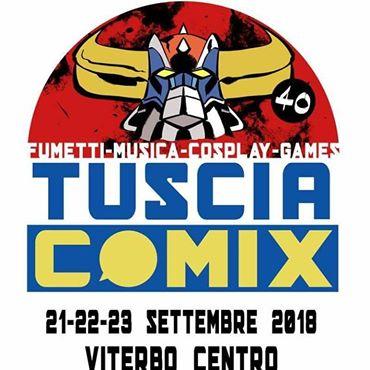 Eventi: dal 21 al 23 la prima edizione del Tuscia Comix