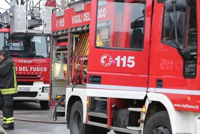 Roma, esplosione a La Storta, due feriti