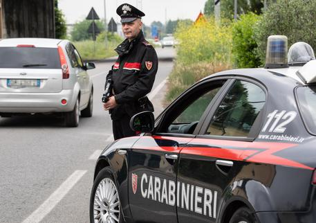 Pattuglia del radiomobile dei Carabinieri