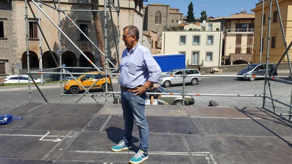 """Comunali, – 4 al ballottaggio: tutto pronto per il comizio a Piazza del Teatro di Salvini, Contardo (Lega): """"Questa piazza la riempiamo"""""""