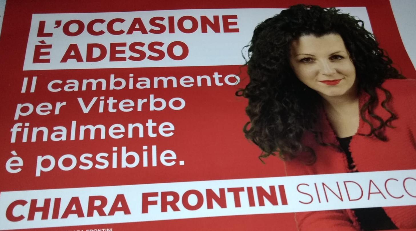 """""""L'occasione è adesso"""", i nuovi manifesti della Frontini: l'unica che  a livello di immagine ha usato standard nazionali"""