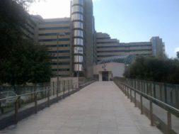 Cagliari ospedale Brotzu esterno ingresso