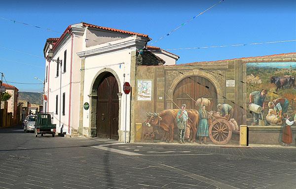 Bimba contesa tra madre sarda e padre professionista viterbese riportata a Viterbo: Baressa (Oristano) in rivolta
