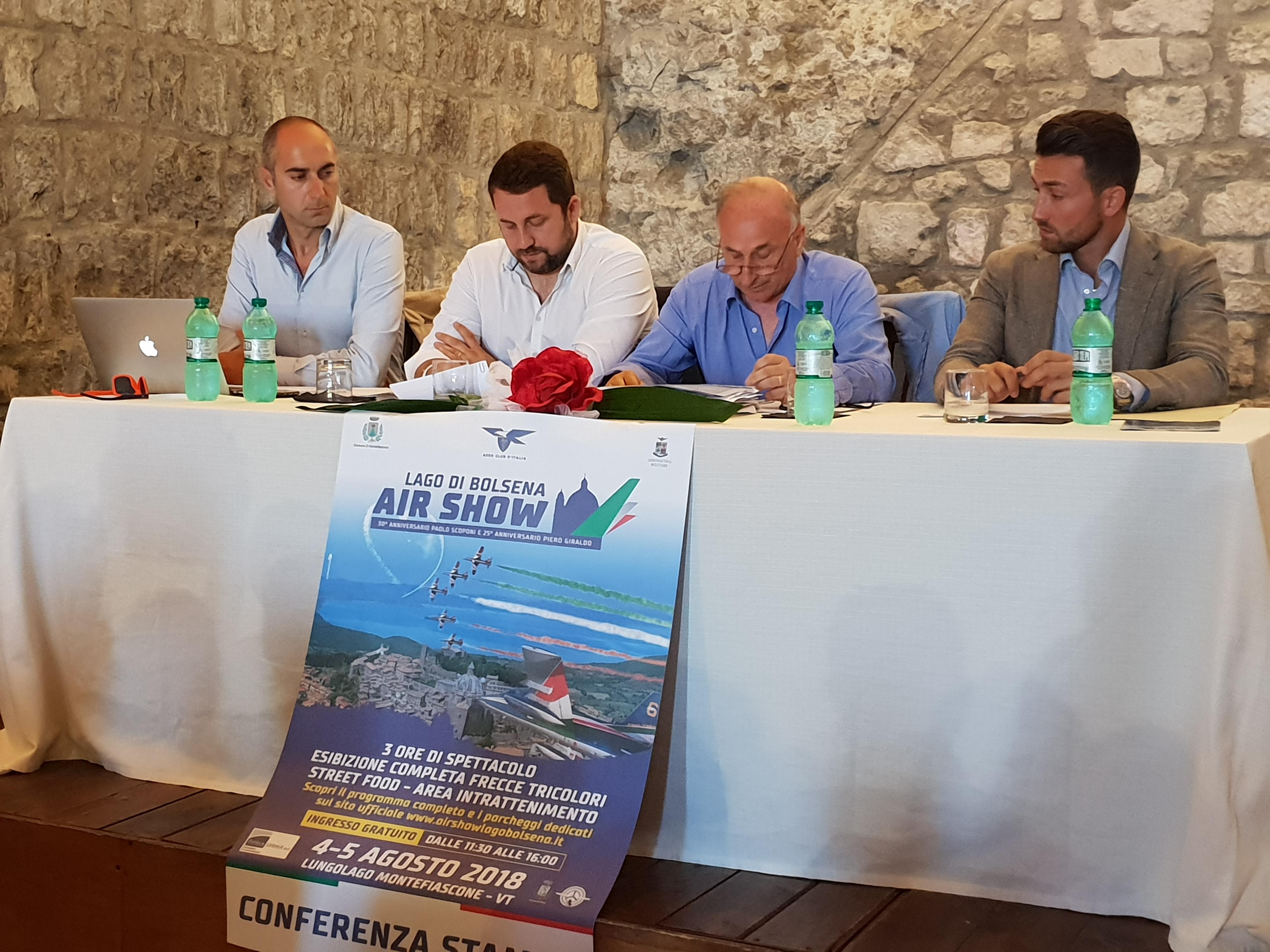 Montefiascone, tutto pronto per l'Airshow del 4 e 5 agosto, il programma completo
