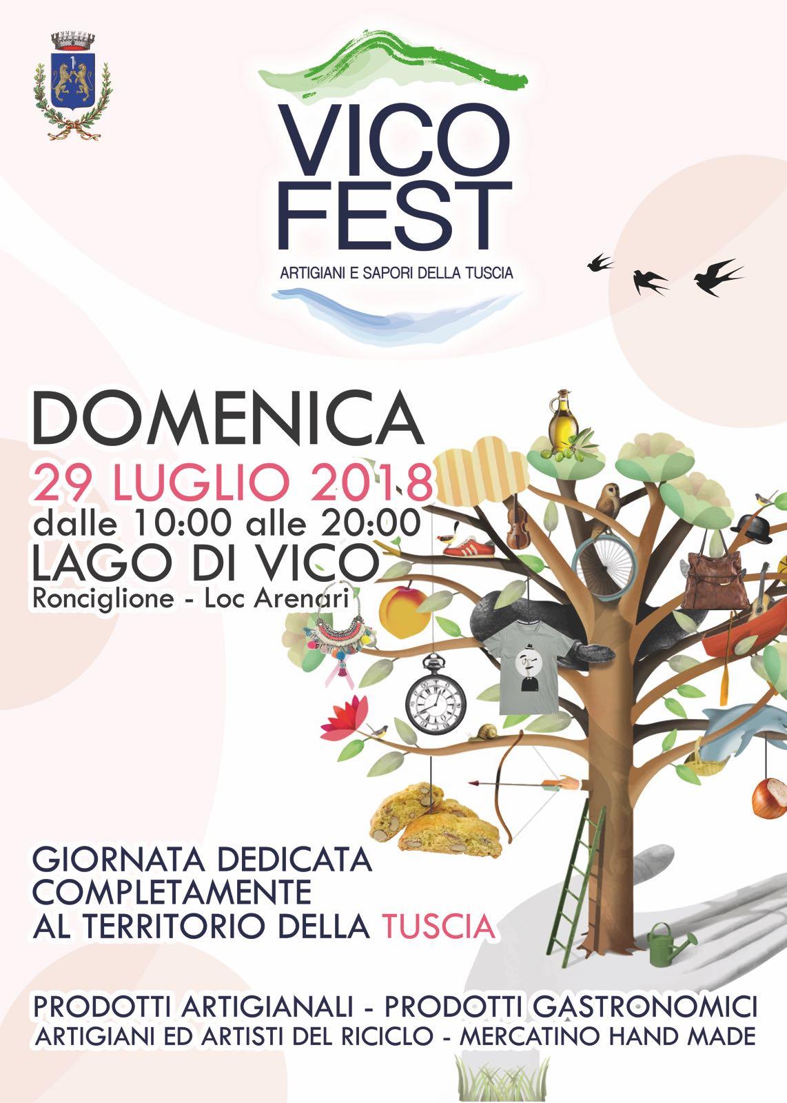 """Ronciglione:  prima edizione del Vico Fest, artigiani e sapori della Tuscia"""""""