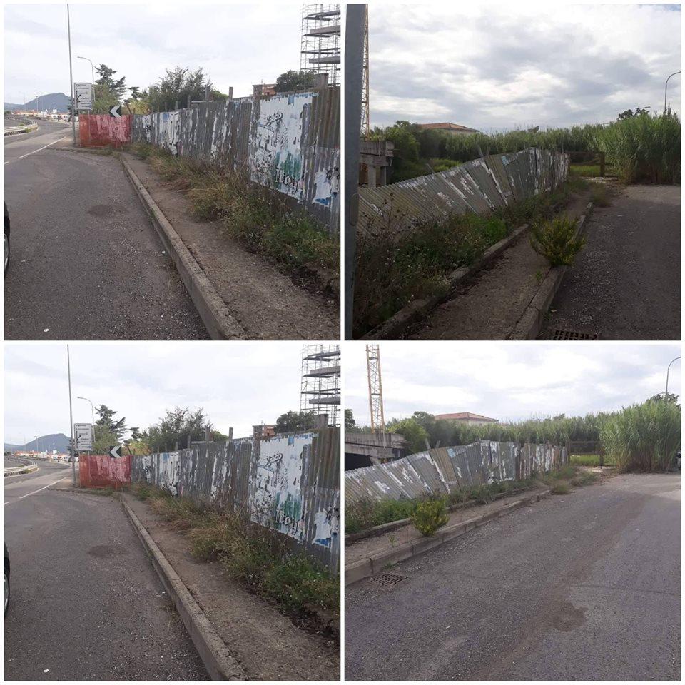 Viterbo, Ecomostro: dopo le denunce di cittapaese.it almeno hanno pulito