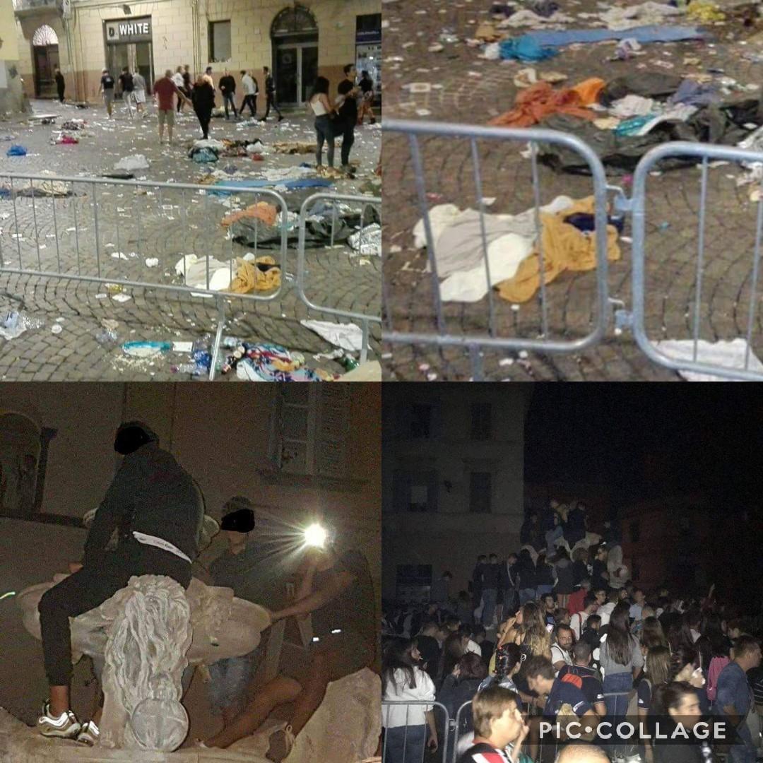 Viterbo, la città delle impunità: disordini a Piazza delle Erbe, nessun sanzionato, tutto archiviato