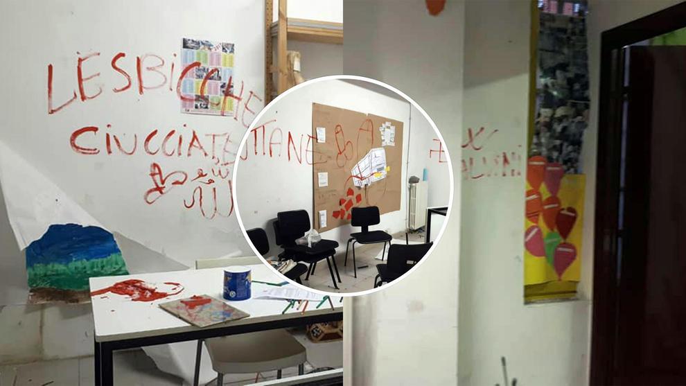 Raid omofobo in una scuola di Milano, scritte contro i gay e pro-Salvini