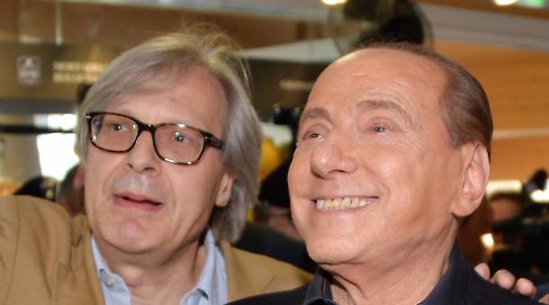 """Sutri, Berlusconi """"debole e malato"""" fa saltare i nervi a  Sgarbi"""
