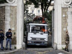 Ossa in Nunziatura: operai, oggi più controlli su lavori