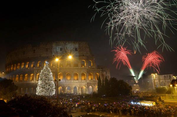 Capodanno, 24 ore di festa a Roma e il 1 gennaio 1000 artisti provenienti da 46 Paesi
