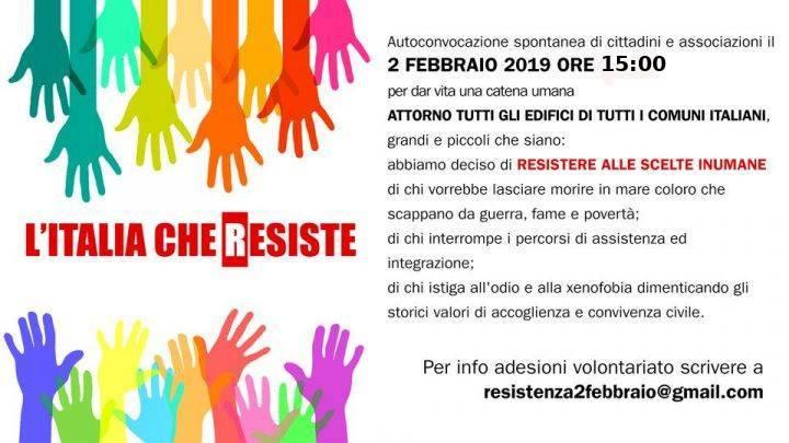 Anche Viterbo all'iniziativa promossa da l'Italia che resiste