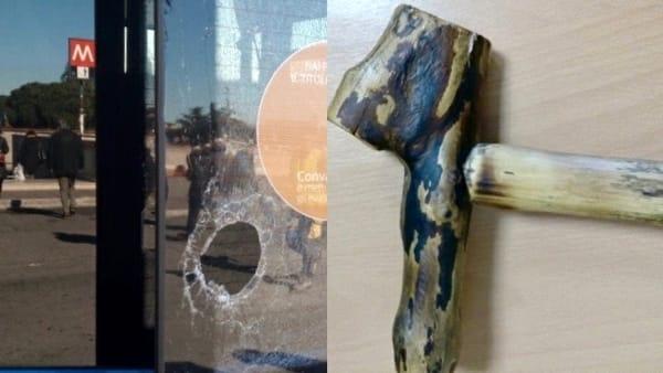 Roma, Terminal Anagnina, 66enne picchia autista Cotral e danneggia bus con un bastone