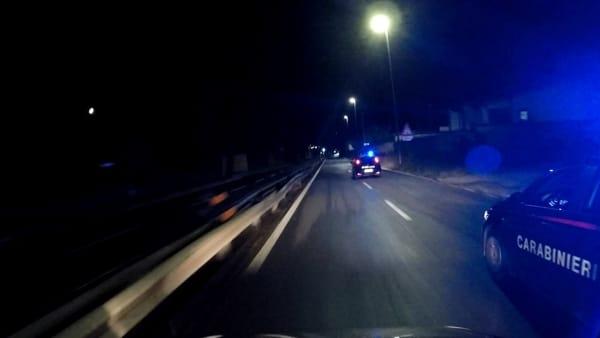 Roma Nord, Giustiniana: arrestato dai carabinieri dopo fuga in auto, era ubriaco, drogato e senza patente
