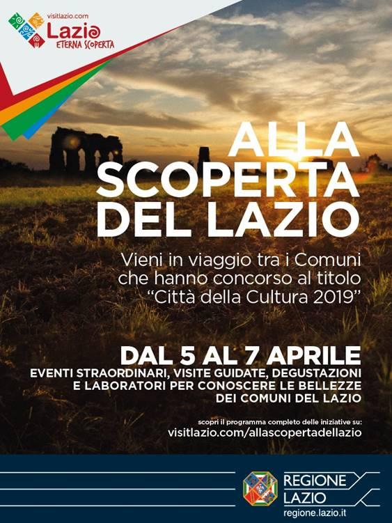 """Viterbo, """"Alla scoperta del Lazio"""", visita guidata """"dagli Etruschi al Rinascimento"""" domenica 7 aprile"""