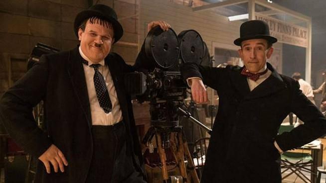 """Viterbo, Cineprime, """"Stanlio e Ollio"""" di Jon S. Baird al Cinema Lux fino a mercoledì 15"""