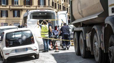 incidente mortale piazzale Appio-3