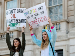 Youths Demonstrate In London Against Climate Change