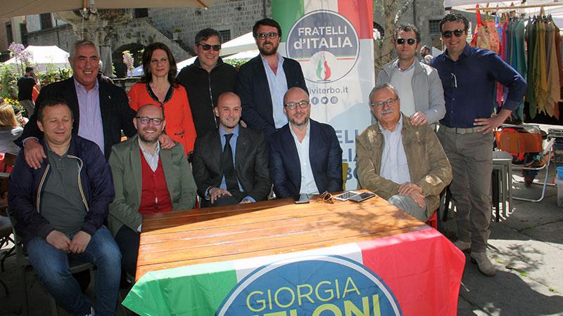 Viterbo, Comune, centro storico: lo strappo di Fratelli d'Italia, la necessità di una nuova visione per la città
