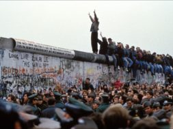 Opening Of The Berlin Wall In Berlin In 1989