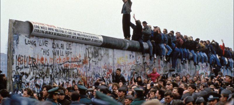 Opening Of The Berlin Wall In Berlin In 1989