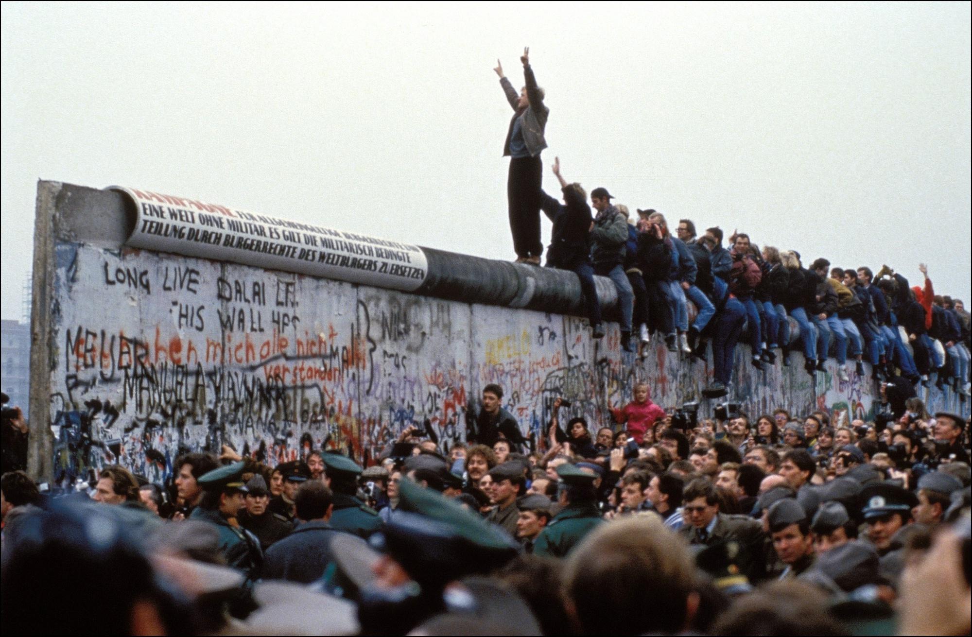 Anniversari, 9 novembre 1989, 30 anni fa cadeva il muro di Berlino