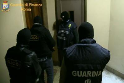 Roma, Maxi operazione contro il narcotraffico della Guardia di Finanza