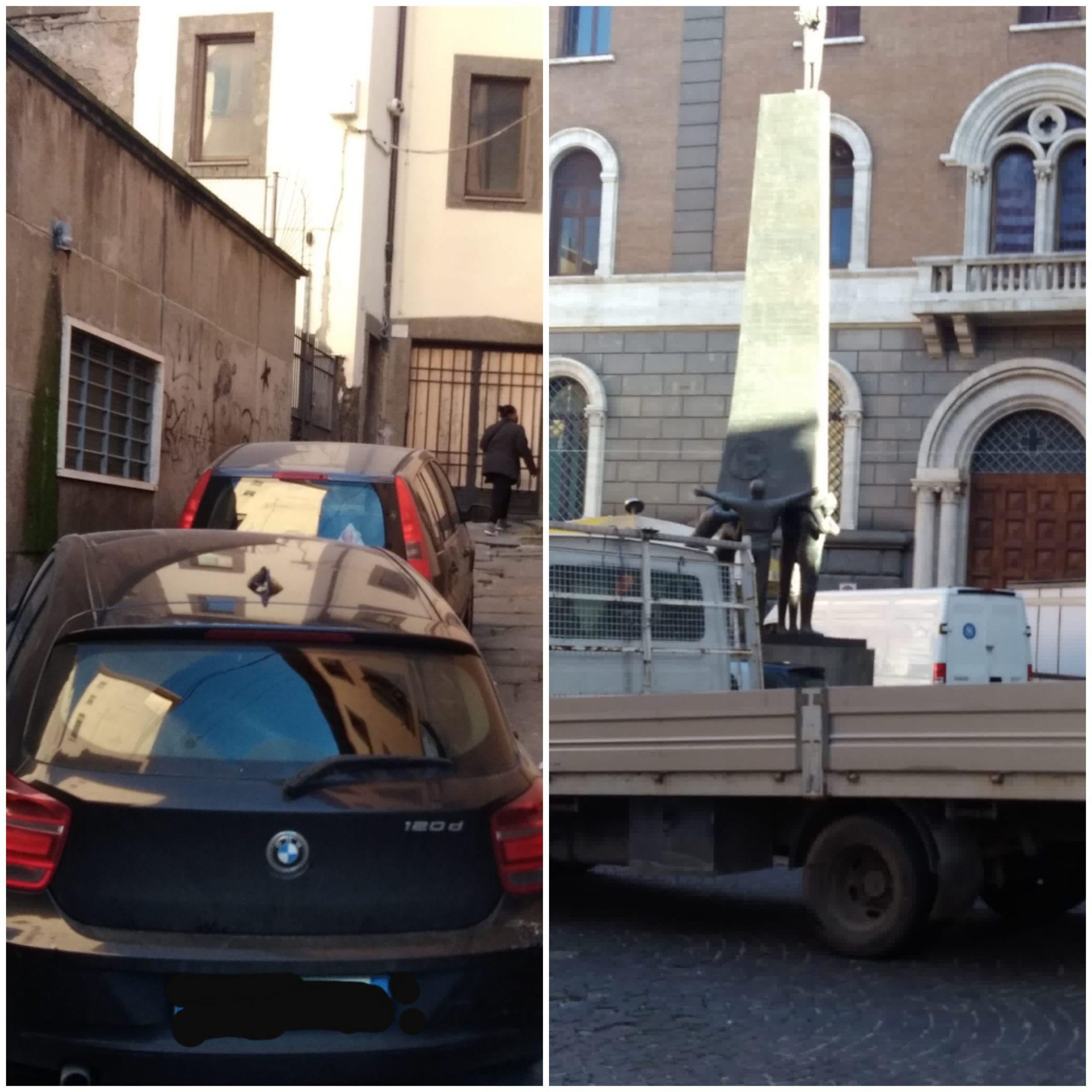 Viterbo, anche di martedì città ostaggio del parcheggio selvaggio, ma il comandante dei vigili è distratto