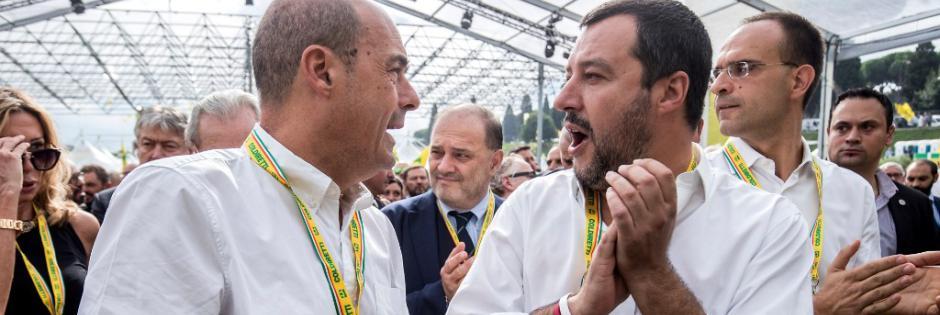 Italia, si gioca in Emilia il match decisivo tra Salvini e Zingaretti