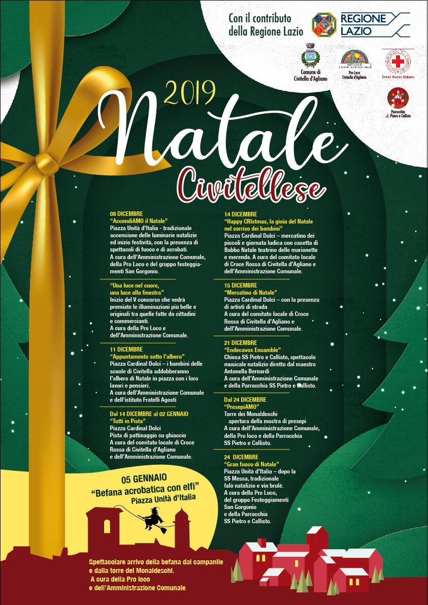 Civitella d'Agliano, il Natale civitellese premiato per l'inclusività