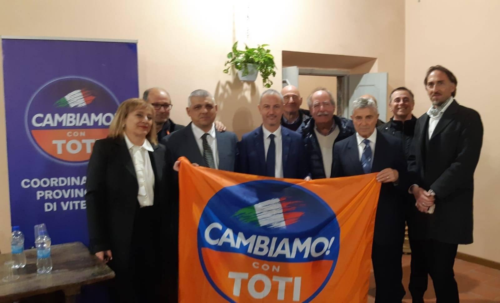 Vetralla, venerdì 13 la presentazione del Comitato Cambiamo con Toti locale