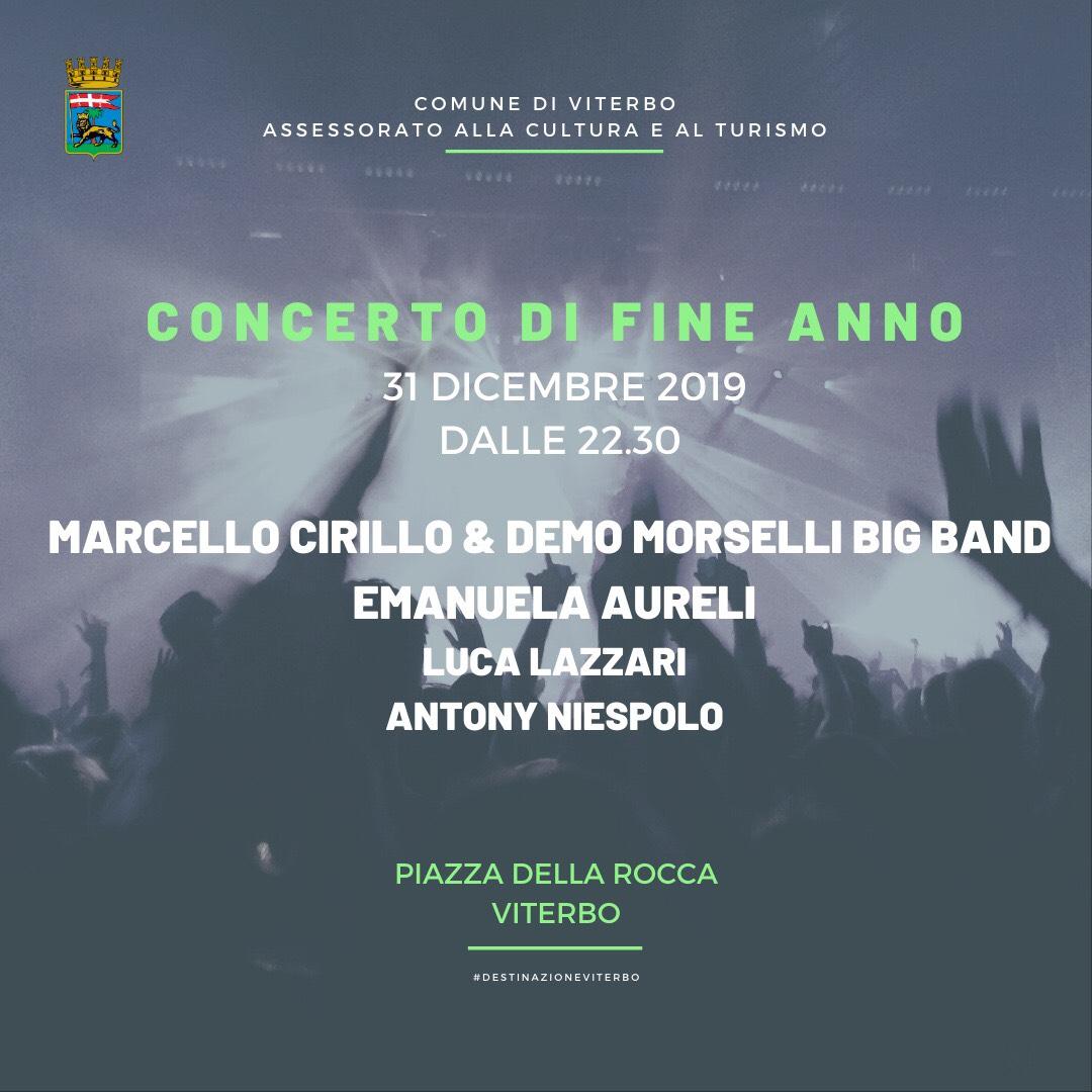 Viterbo, concerto di fine anno a piazza della Rocca, attenzione alla viabilità